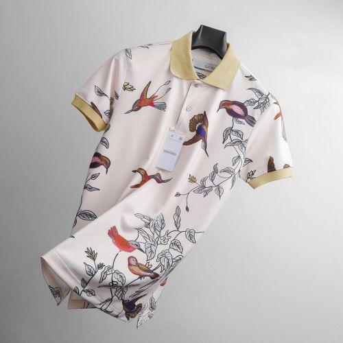 Floral Tropical Polo Shirt